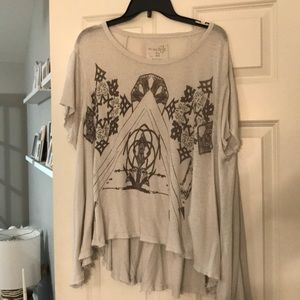 We The Free Boho Graphic Top